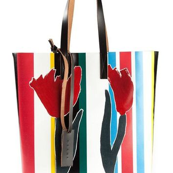 ONETOW Marni striped tote