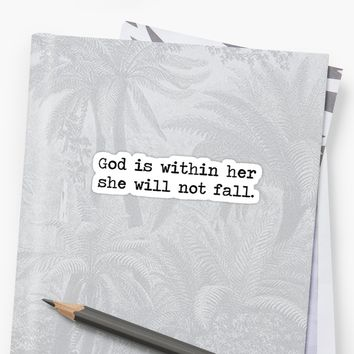 'Christian Quote' Sticker by Bethel Store