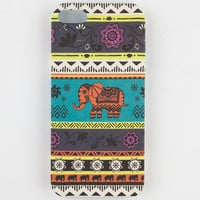 Boho Elephant Iphone 5 Case Multi One Size For Women 23533895701