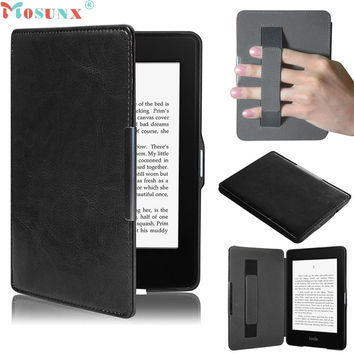 Mosunx Simplestone Premiu Ultra Slim Leather Smart Case Cover For New Amazon Kindle Paperwhite 5 oct17