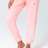 SPIRITUAL GANGSTER ARCH SWEATPANT NEON CORAL