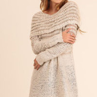 Winter Chic Sweater Dress Tunic