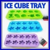 3 Silicone Ice Cube Maker Jelly Chocolate Cake Mold Tray New ! Variable trays