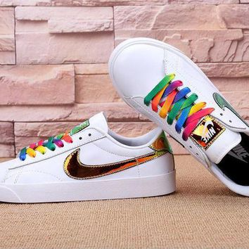 Nike Tennis Classic KOREA Women Multicolor Casual Running Sport Sneakers Shoes