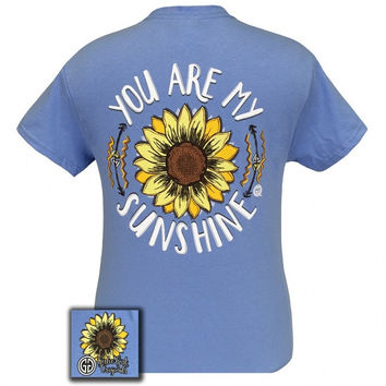 Girlie Girl Originals You are my Sunshine Arrows Flower T-Shirt
