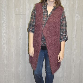 Day After Day Cardigan Vest