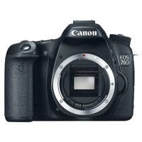 Canon EOS 70D Digital SLR Camera Body - Black (8469B002)