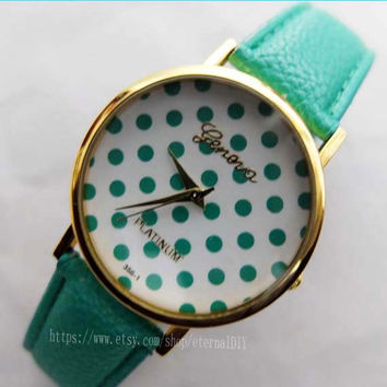 fashion watches - Wave point watches, men and women watch, students watch, unique watches
