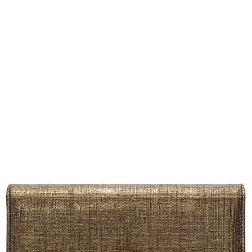 Alexander McQueen Calfskin Leather Wallet on a Chain | Nordstrom
