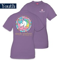 Simply Southern - Youth: Unicorn Tee