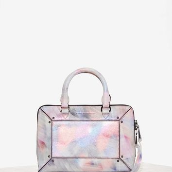 Aimee Kestenberg Tara Leather Crossbody Bag - Metallic