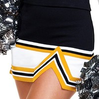 3-Color Stunt Cheerleader Uniform Skirt