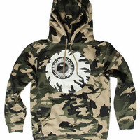 Keep Watch Pullover Hoodie (Camo/Glow In The Dark)