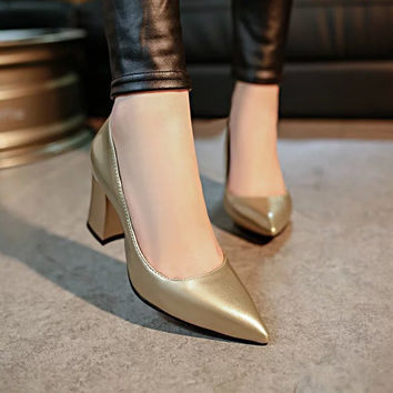 Spring Party High-heeled Shoes