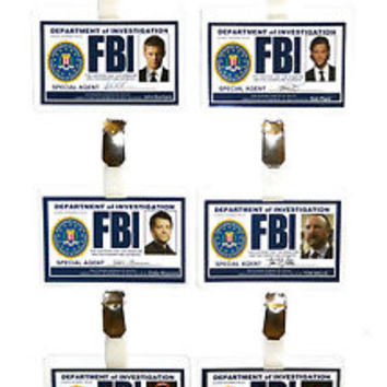 Supernatural FBI ID Badge Winchester Cosplay Costume Prop Fancy Dress Halloween