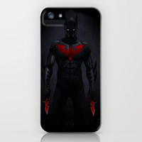 Batman Beyond iPhone Case by Yvan Quinet