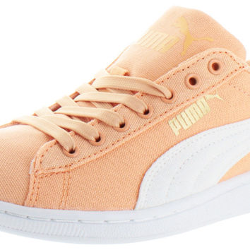 Puma Vikky Women's Low Canvas Sneakers Shoes