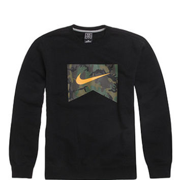 Nike SB Foundation Camo Fill Crew Fleece at PacSun.com