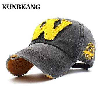 Trendy Winter Jacket 100% Washed Denim Baseball Cap NEW YORK Embroidery Casquette Dad Hat Men Women Gorras Summer Vintage Letter Trucker Snapback Cap AT_92_12