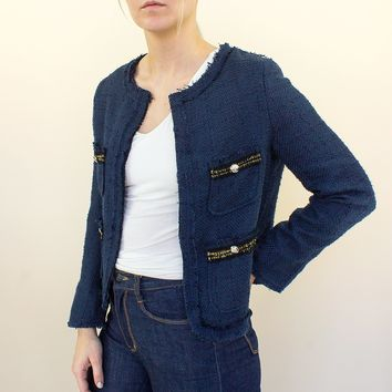 Veronica Jacket - navy
