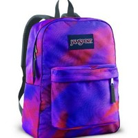 JanSport Superbreak Backpack (Purple Sky/Multi Watercolor)