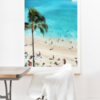 Deb Haugen my Waikiki Art Print And Hanger