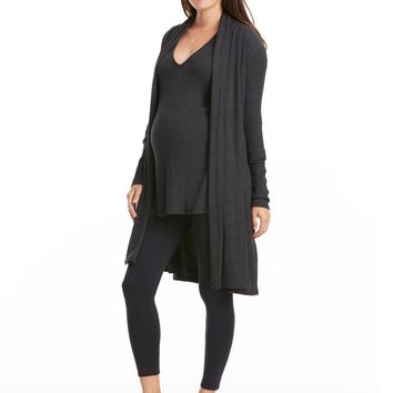 Rachel Pally Sal Ribbed Sweater Coat