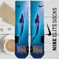 Disney Ariel The Little Mermaid Custom Nike Elite Socks