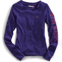 Cotton Poly Jersey Knit Tin Haul Collection Long Sleeve Urban Western Wear