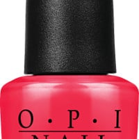 OPI Nail Lacquer - OPI Red 0.5 oz - #NLL72