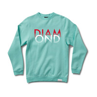 White Sands Crewneck Sweatshirt in Diamond Blue