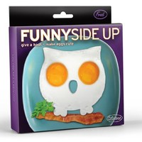 Fred & Friends FUNNY SIDE UP, Owl Egg Mold