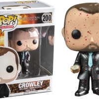 Supernatural Crowley Blood Splatter Pop Vinyl Figure