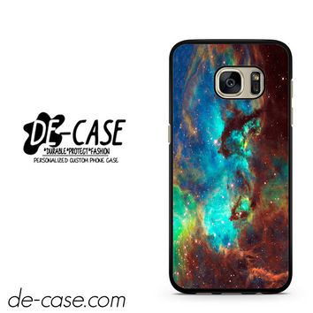 Space Hubble Green Blue Purple DEAL-9842 Samsung Phonecase Cover For Samsung Galaxy S7 / S7 Edge