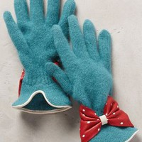 Ferry Road Gloves by Anthropologie Sky One Size Gloves