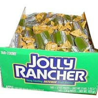 Jolly Rancher Hard Candy- Green Apple, 160-Count