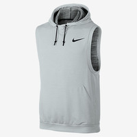 The Nike Fleece Pullover Sleeveless Men's Training Hoodie.
