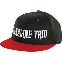 Alkaline Trio Men's Logo Baseball Cap Black