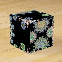 classy beautiful mandalas favor box