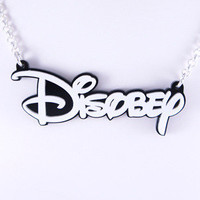 Tequila Star — Disobey Necklace
