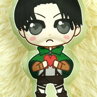 Levi - Attack on Titan Pillow Plushie