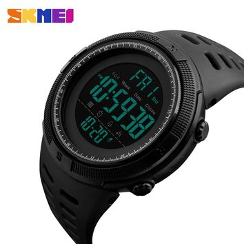 New Men Sports Watches SKMEI Brand Double Time Countdown Alarm Chrono Digital Watch Men Waterproof Clock Student Wristwatches
