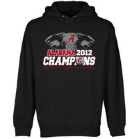 Alabama Crimson Tide 2012 BCS National Champions Pullover Hoodie - Black