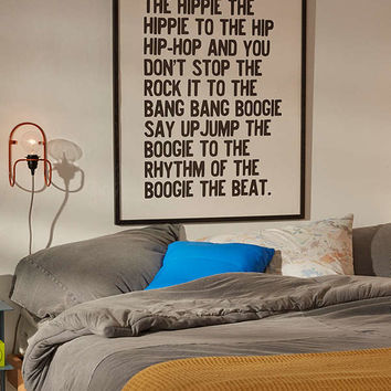Honeymoon Hotel Rapper's Delight Art Print | Urban Outfitters