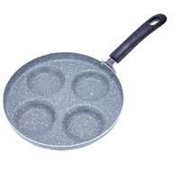 24cm Multifunctional Medical Stone Non Stick Frying Pan Aluminum Alloy