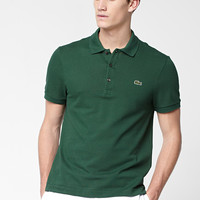 Lacoste Short Sleeve Slim Fit Pique Polo : Polo Shirts