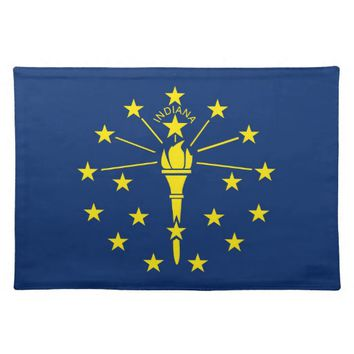 Indiana Flag American MoJo Placemat