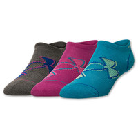Kids' Under Armour Solo 4 No Show Socks