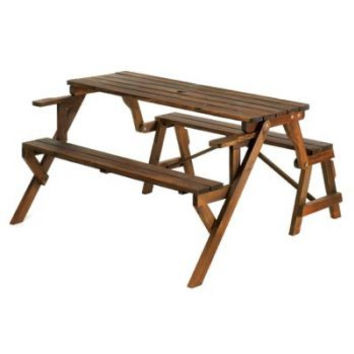 Convertible Garden Table & Bench