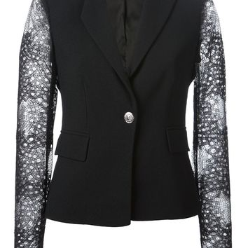 Versace lace sleeves jacket
